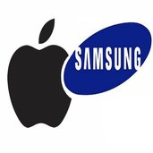 Apple and Samsung أبل وسامسونج