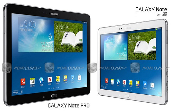 Galaxy Note Pro 12.2, Tab Pro 8.4 and Tab Pro 10.1